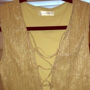 Anine bing bling body suit